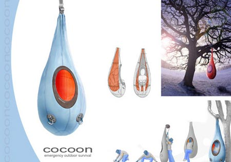 cacoon tent thing