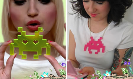 collar space invaders