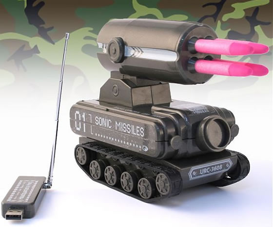 tanque lanza misiles usb