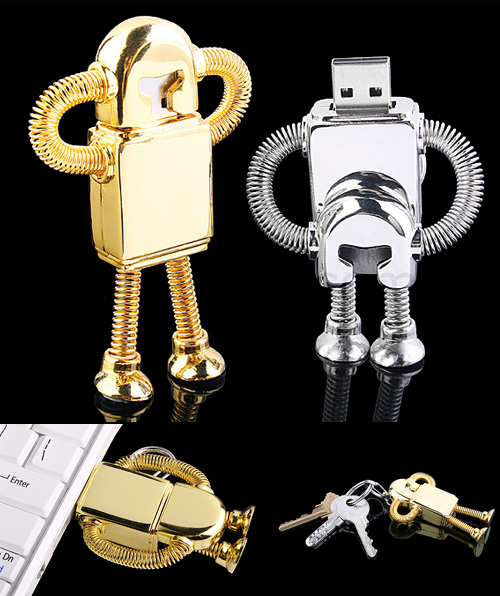 usb robot memoria flash