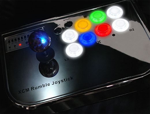 joystick xcm rumble ps3