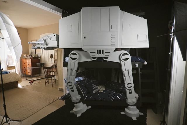 cama atat star wars