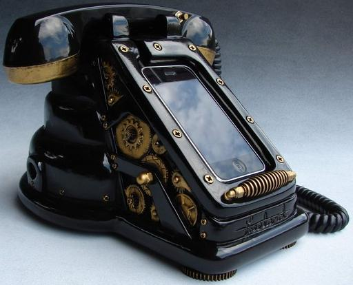 iphone steampunk