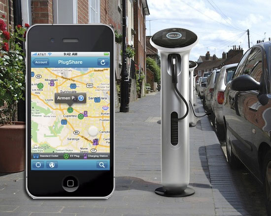 plugshare coches electricos