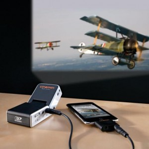 Mini proyector portátil para iPhone, Android y tablets