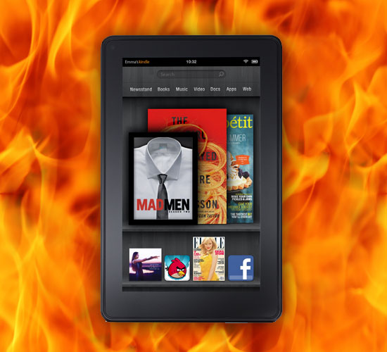 Kindle Fire, el tablet de 200 dólares de Amazon