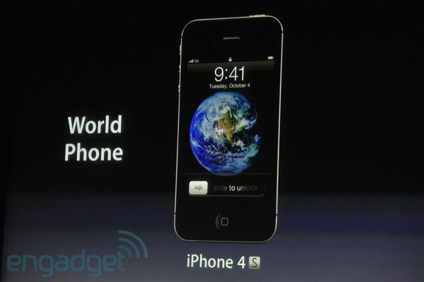 Apple presenta el iPhone 4S, nada de iPhone 5 de momento