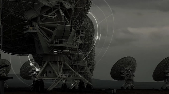 Very Large Array: La red de radio telescopios que salía en la película Contact en Time-Lapse