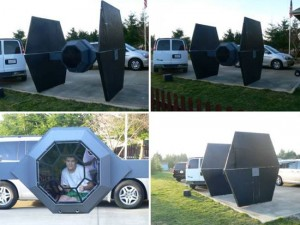 Se vende TIE Fighter por 150 dólares